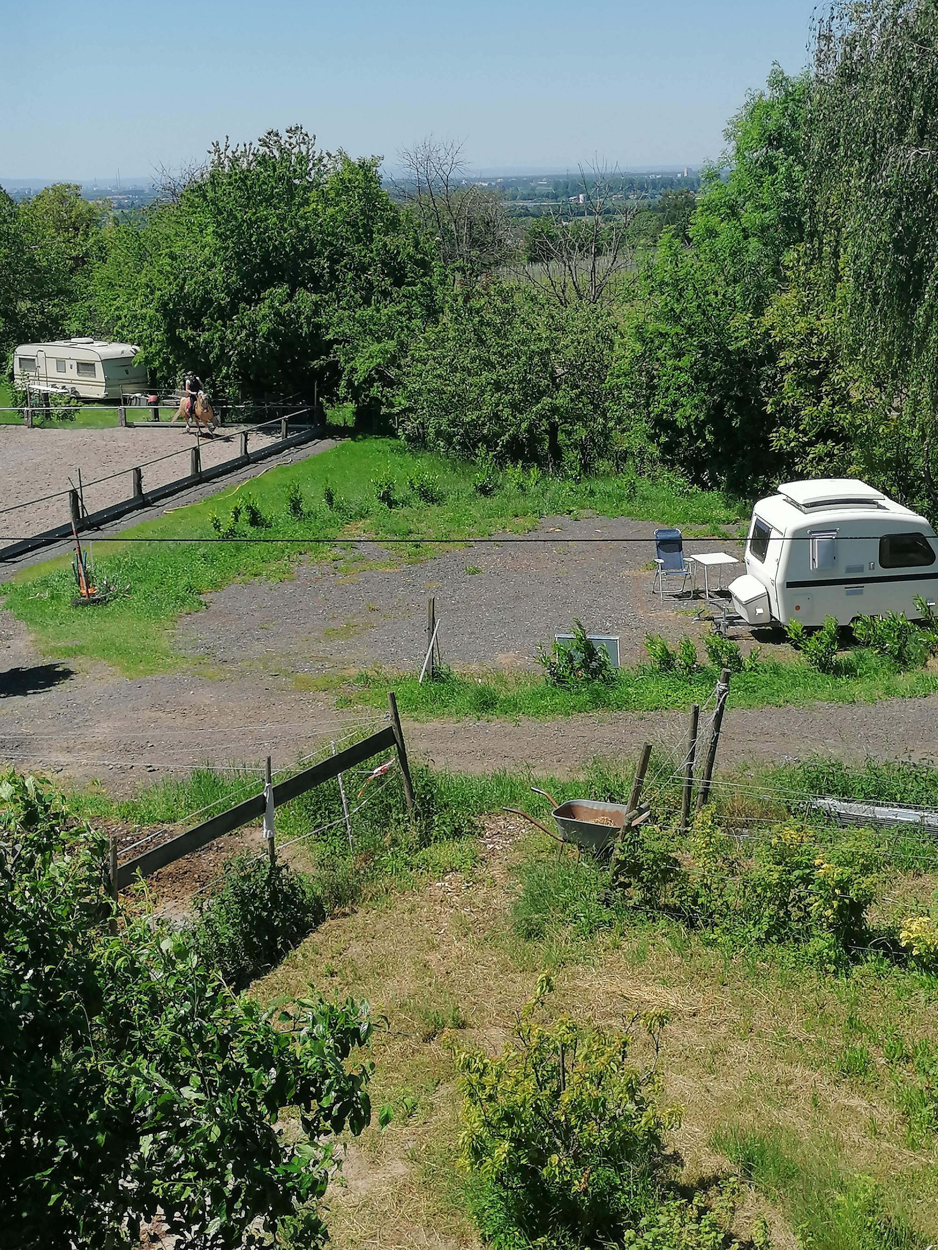 Camperstellplatz auf dem Bauernhof