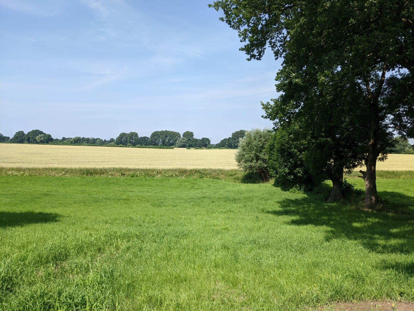 Hof Vogel: Bauernhof am Weserradweg