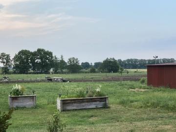 Stellplatz auf dem Bauernhof
