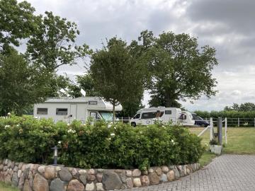 Stellplatz in Nordseenähe